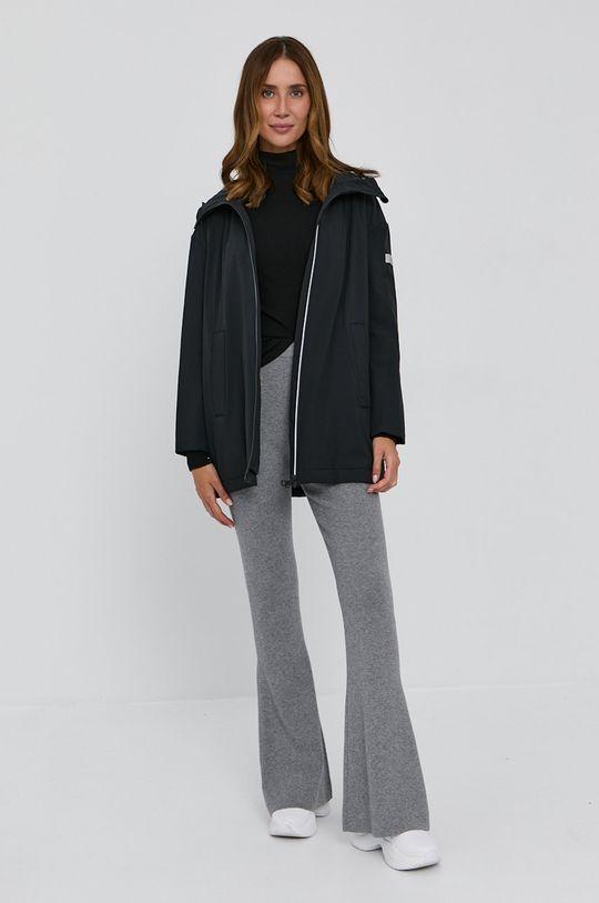 MAX&Co. - Pulover din amestec de lana negru