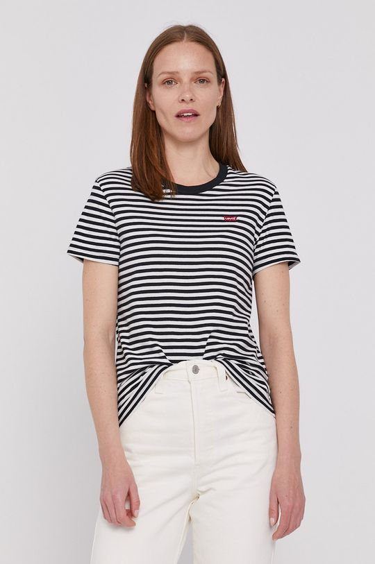 czarny Levi's - T-shirt Damski