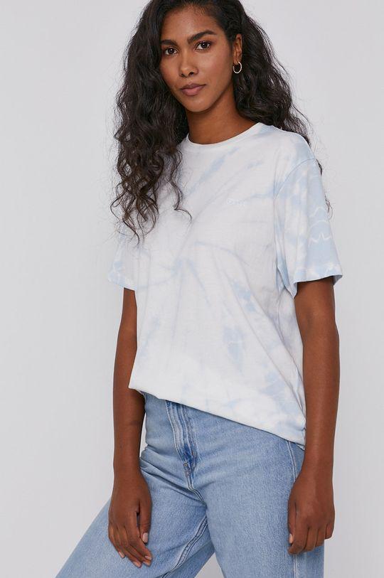 niebieski Levi's - T-shirt bawełniany Damski