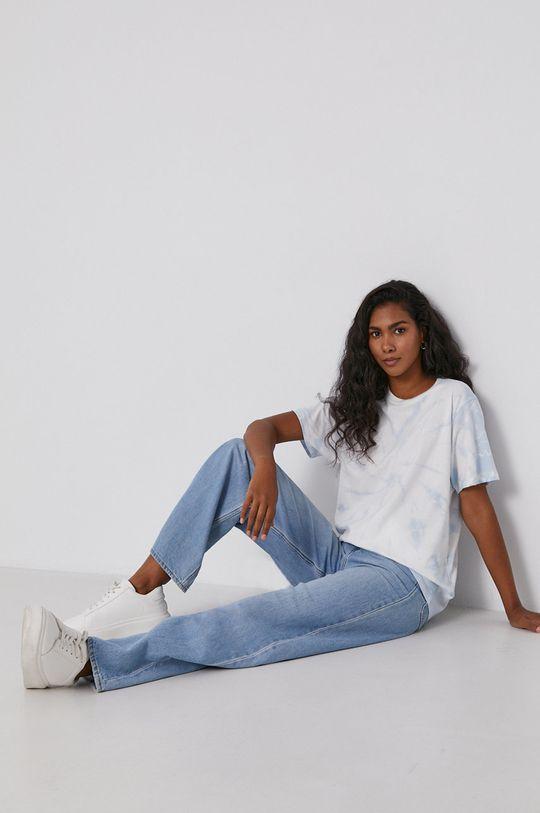 Levi's - T-shirt bawełniany niebieski