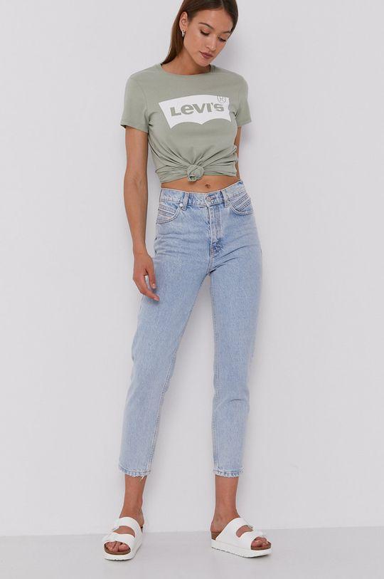 Levi's - T-shirt zielony