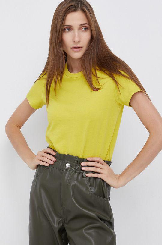 zielony Levi's - T-shirt bawełniany Damski