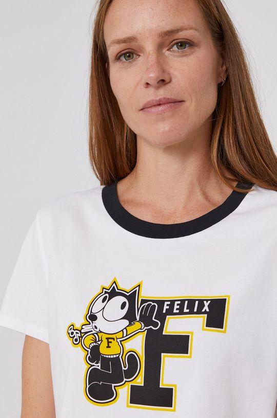 alb Levi's - Tricou din bumbac x Felix The Cat De femei