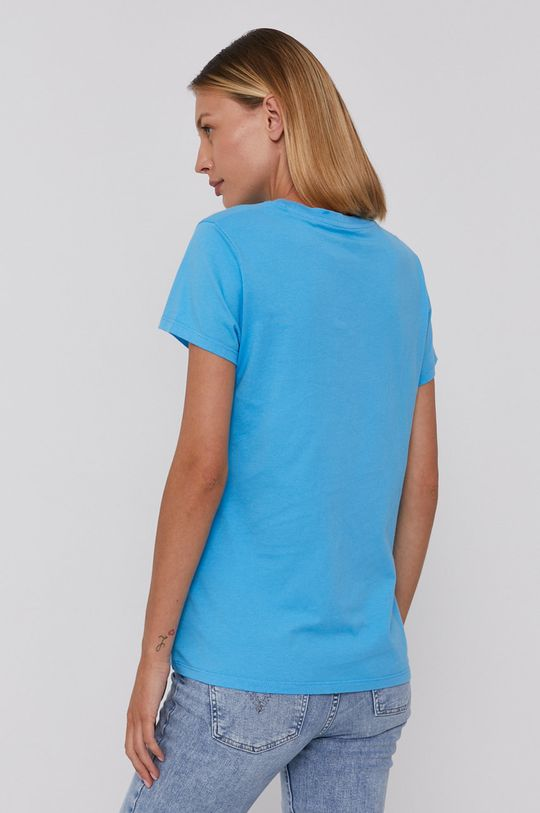 niebieski Levi's - T-shirt bawełniany