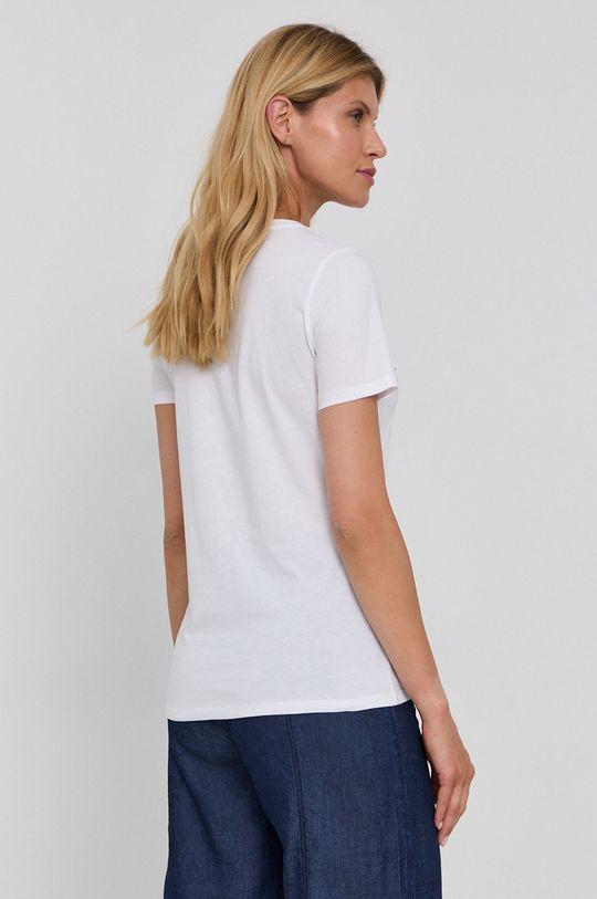 Boss - Bavlnené tričko  100% Bavlna