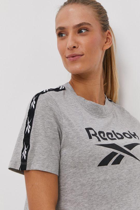 Reebok - Tričko  Základná látka: 60% Bavlna, 40% Polyester Elastická manžeta: 60% Bavlna, 5% Elastan, 35% Polyester