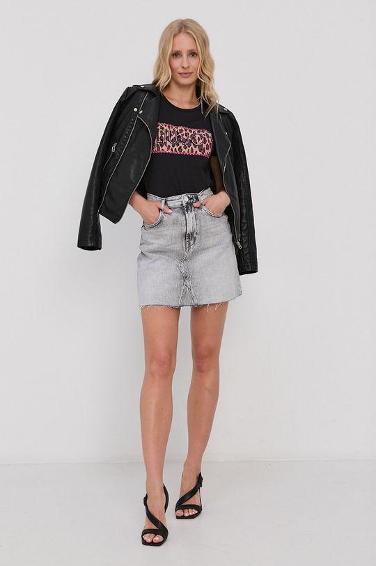 Liu Jo - T-shirt czarny