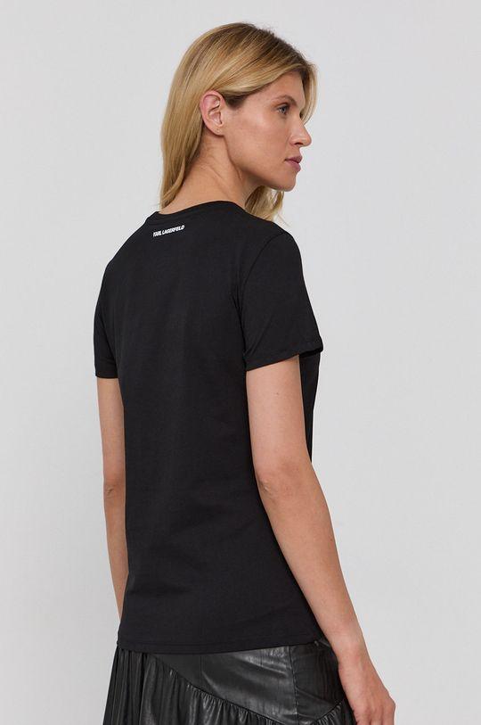 Karl Lagerfeld - Bavlněné tričko  100% Organická bavlna