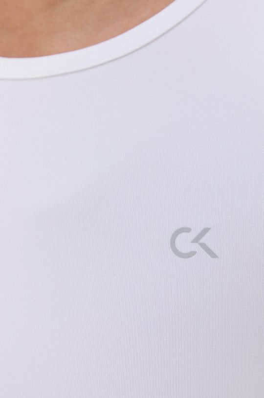 biały Calvin Klein Performance - T-shirt