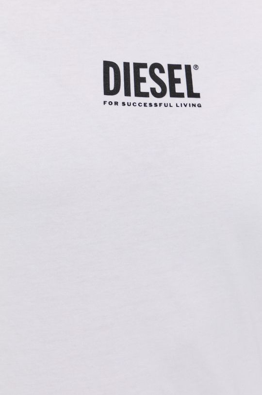 Diesel - T-shirt bawełniany Damski