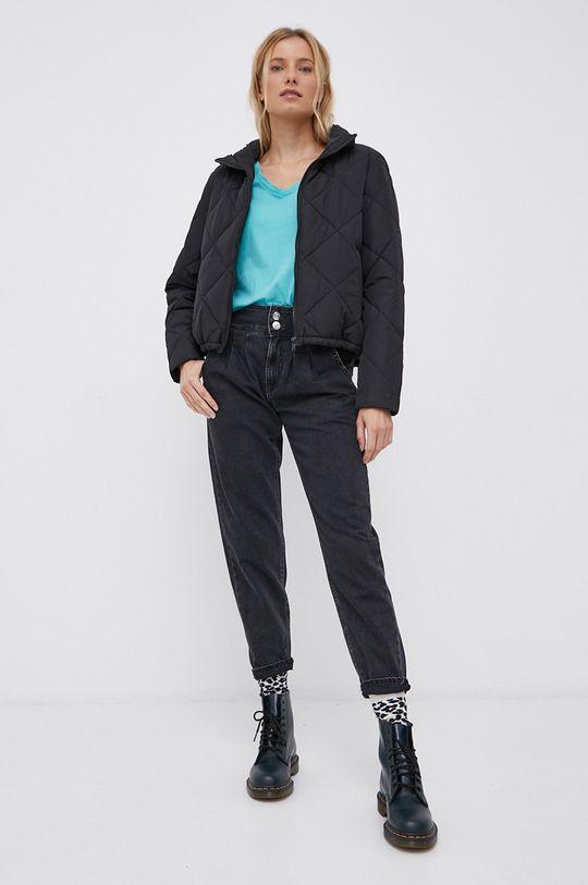 Jacqueline de Yong - Bavlnené tričko tyrkysová