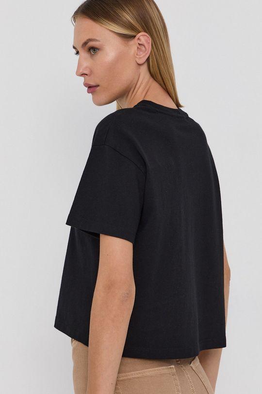 Napapijri - T-shirt bawełniany 100 % Bawełna
