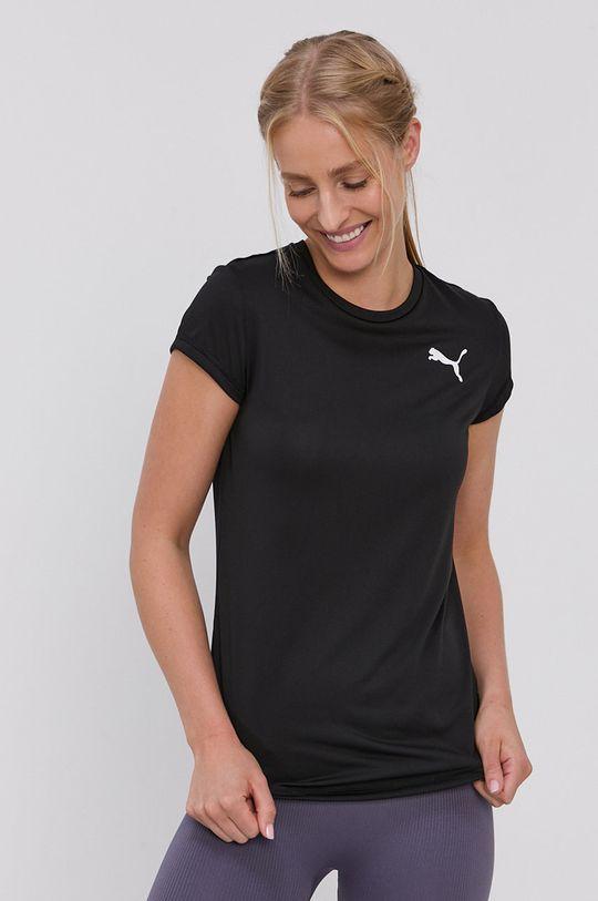 czarny Puma - T-shirt Damski