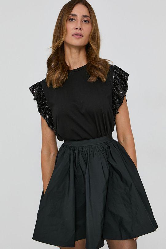 negru Twinset - Tricou din bumbac
