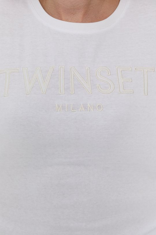 Twinset - T-shirt bawełniany Damski