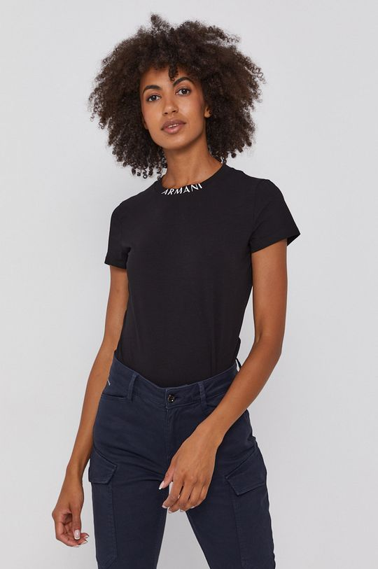 negru Armani Exchange - Tricou De femei