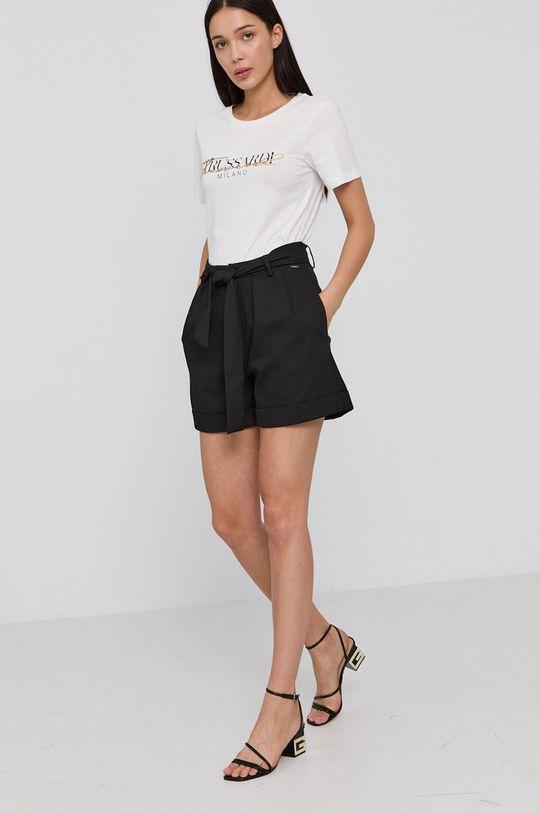 Trussardi - T-shirt biały