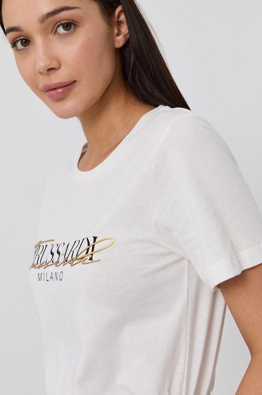 biały Trussardi - T-shirt