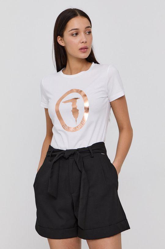 bílá Trussardi - Tričko s dlouhým rukávem Dámský
