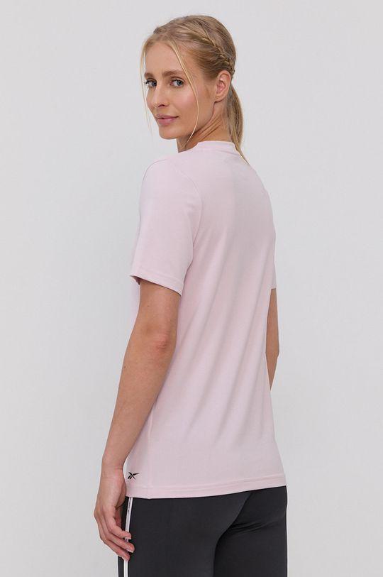 Reebok - T-shirt 9 % Spandex, 91 % Poliester z recyklingu