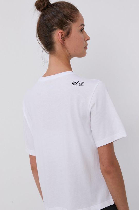 EA7 Emporio Armani - Bavlněné tričko  100% Bavlna