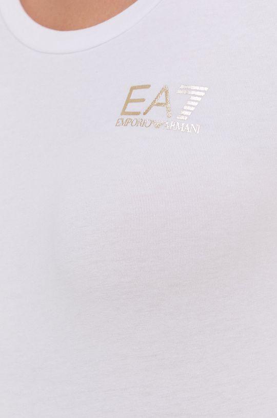 EA7 Emporio Armani - T-shirt bawełniany Damski