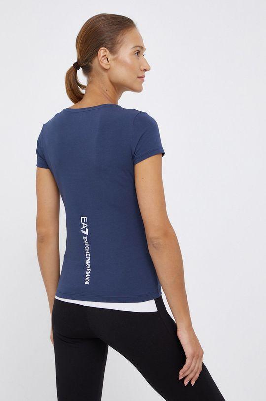 EA7 Emporio Armani - T-shirt bawełniany 95 % Bawełna, 5 % Elastan