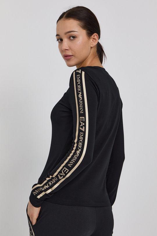 EA7 Emporio Armani - Tričko s dlouhým rukávem  96% Bavlna, 4% Elastan
