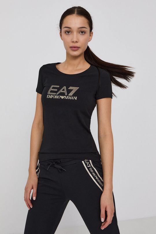 černá EA7 Emporio Armani - Tričko Dámský