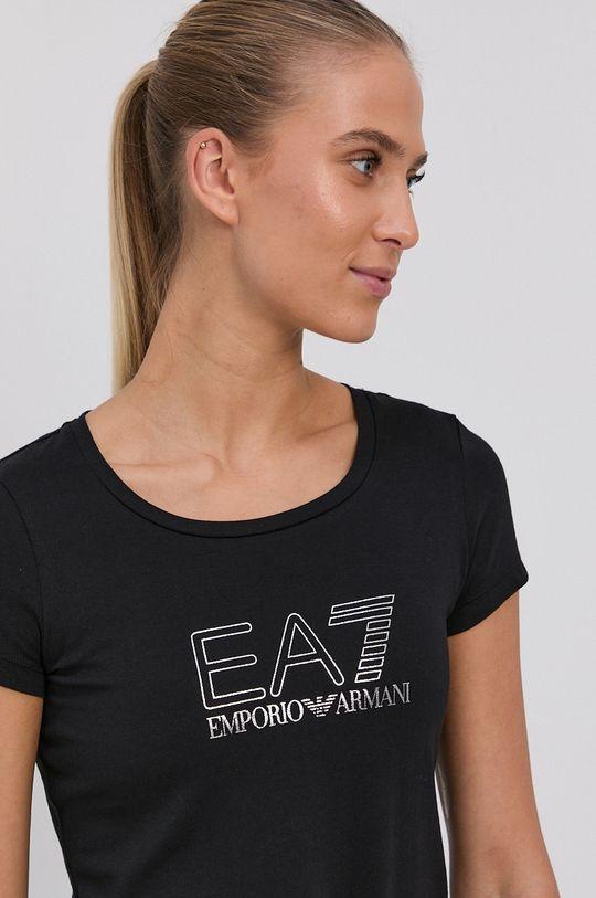 EA7 Emporio Armani - Tričko čierna