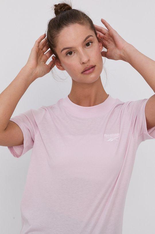 pastelově růžová Reebok - Tričko Dámský
