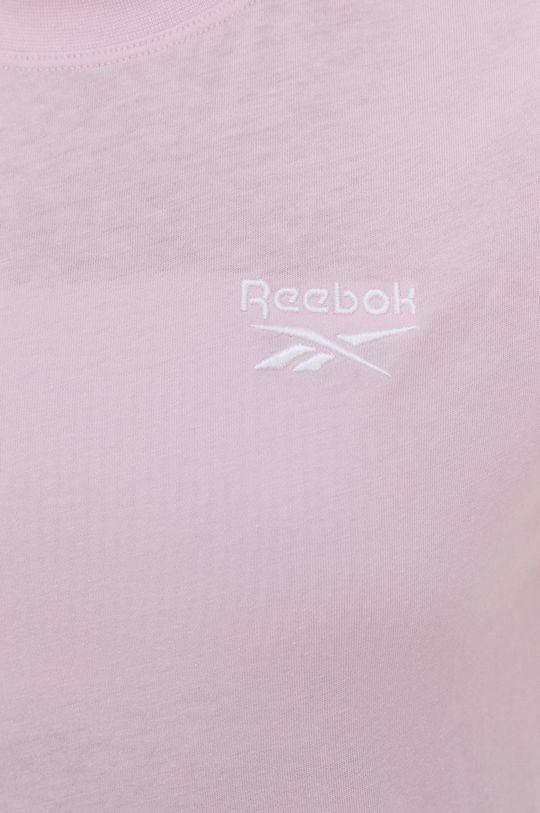 pastelově růžová Reebok - Tričko
