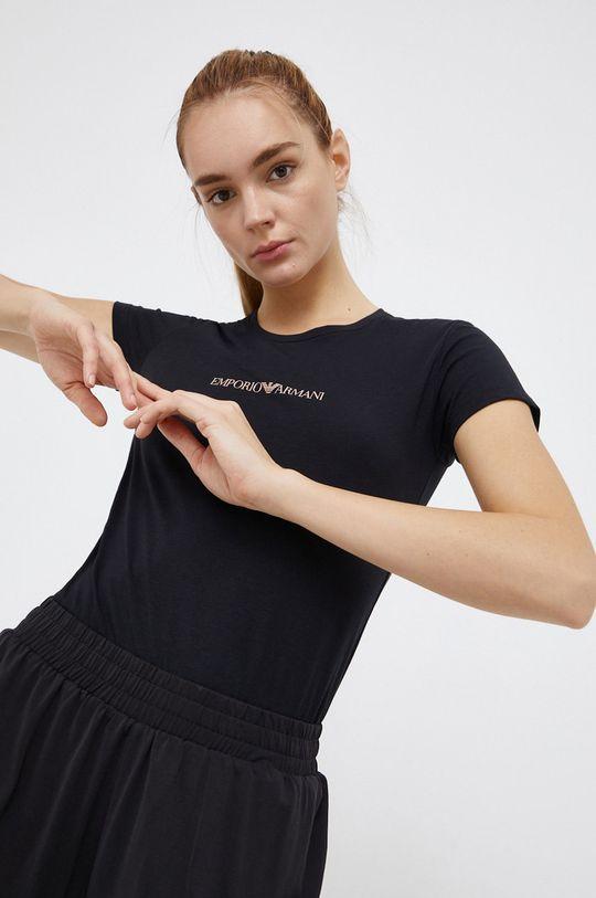 negru Emporio Armani Underwear - Tricou De femei