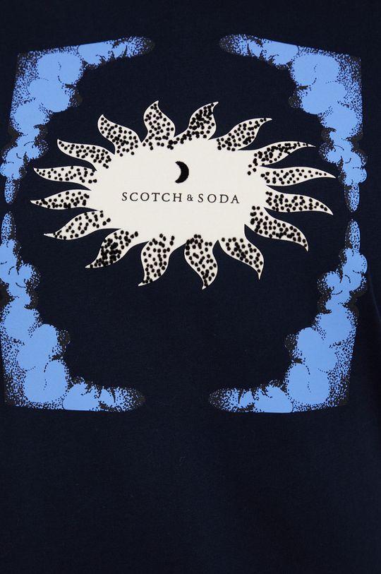 Scotch & Soda - T-shirt bawełniany Damski