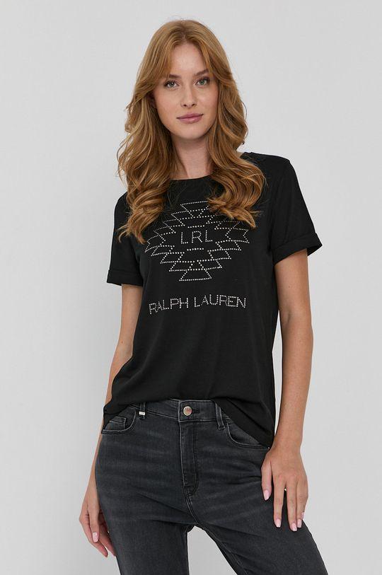 negru Lauren Ralph Lauren - Tricou De femei