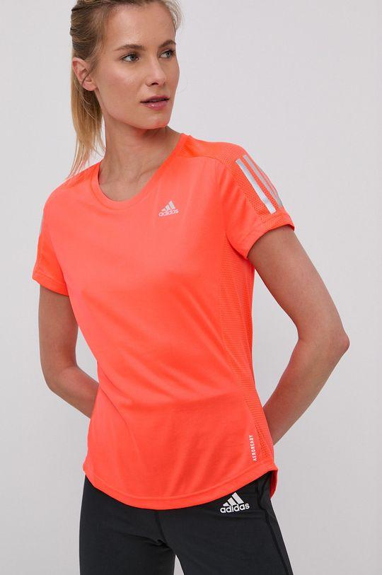 oranžová adidas Performance - Tričko Dámsky