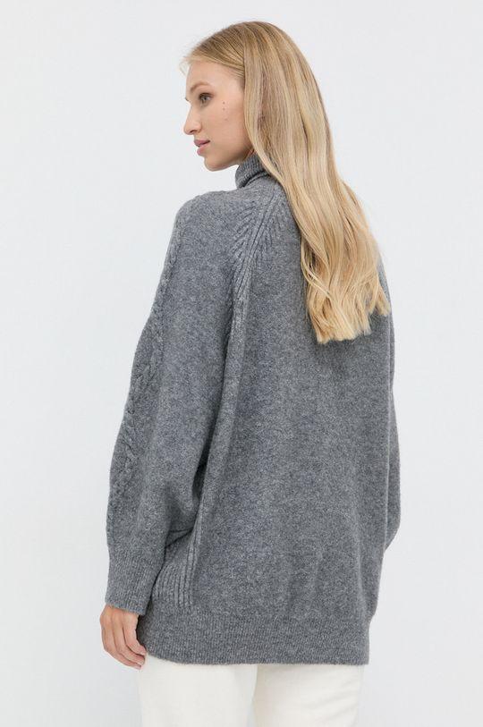 Marella - Sweter wełniany 2 % Elastan, 31 % Poliamid, 67 % Wełna