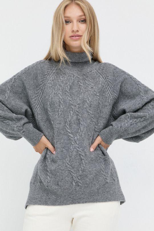 szary Marella - Sweter wełniany