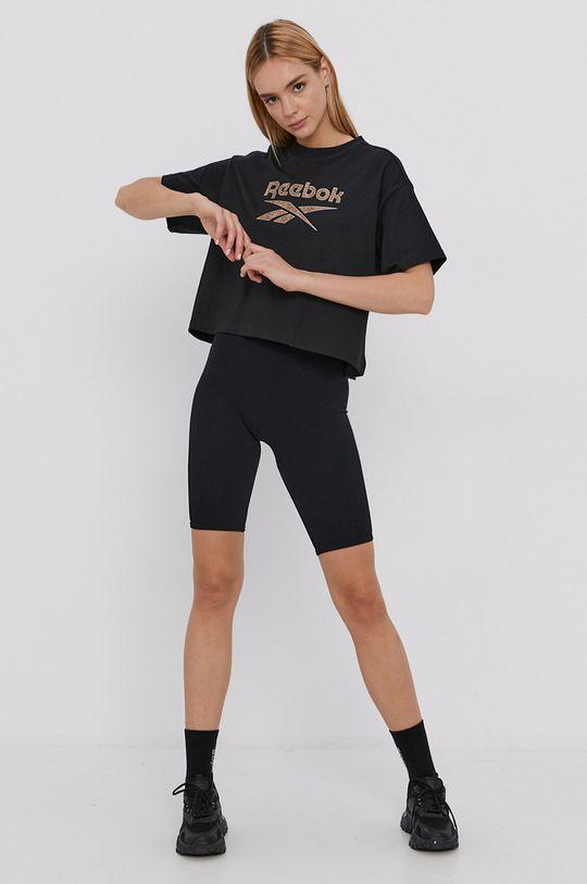Reebok Classic - Tricou din bumbac negru