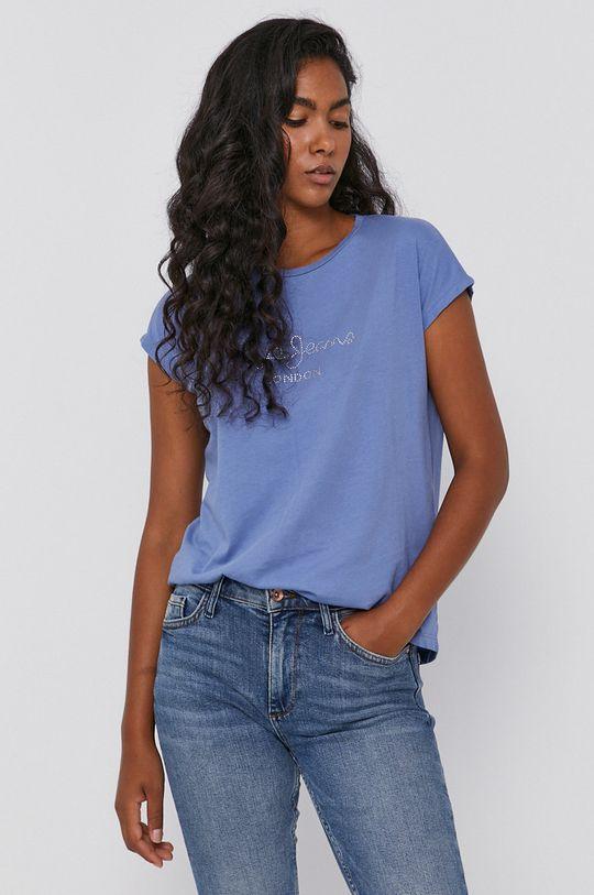 světle modrá Pepe Jeans - Tričko Bonnie Dámský