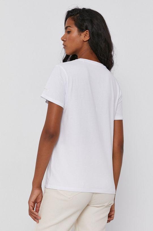 Pepe Jeans - T-shirt Blancas 100 % Bawełna
