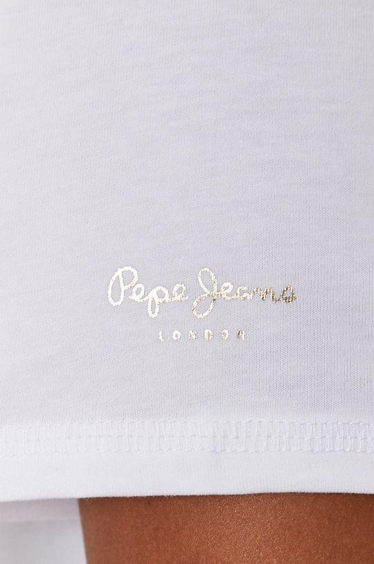 Pepe Jeans - T-shirt Blancas Damski