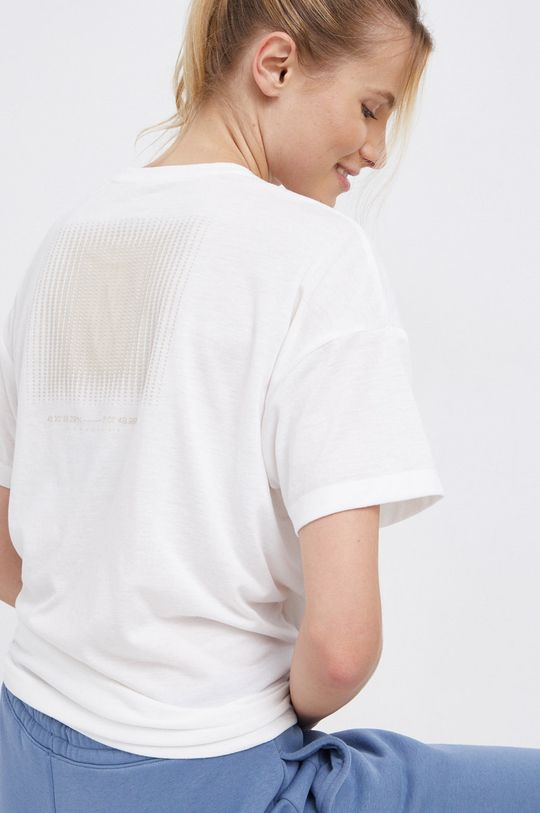 biały Reebok - T-shirt Damski