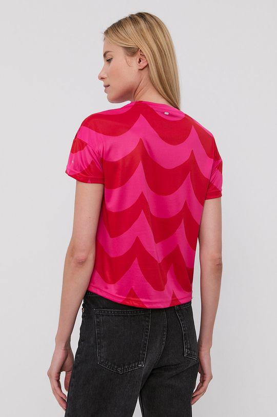 adidas Performance - T-shirt X Marimekko 100 % Poliester z recyklingu