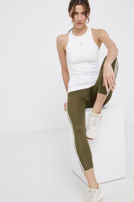 kremowy adidas by Stella McCartney - Top Damski
