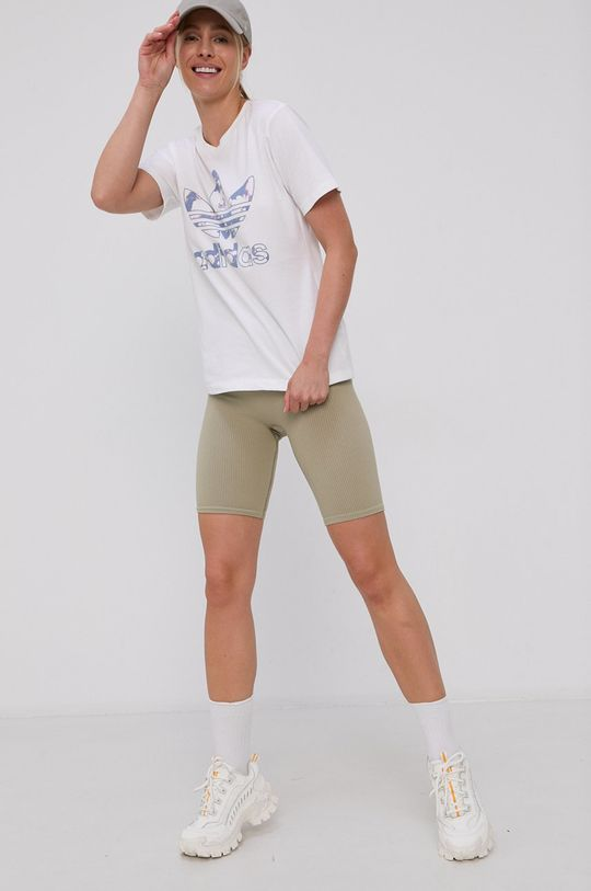 adidas Originals - T-shirt bawełniany biały