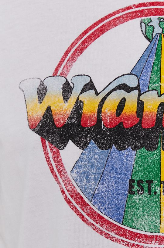 Wrangler - T-shirt bawełniany Damski
