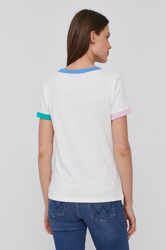 Wrangler - Bavlněné tričko  100% Bavlna