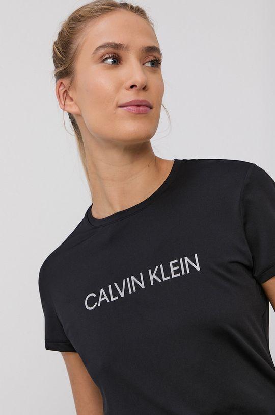 čierna Calvin Klein Performance - Tričko Dámsky