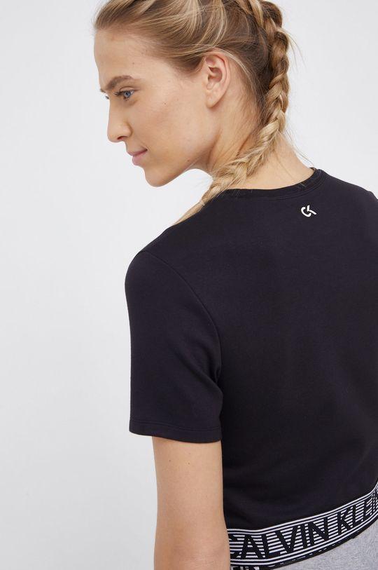 Calvin Klein Performance - T-shirt 5 % Elastan, 27 % Poliamid, 68 % Wiskoza